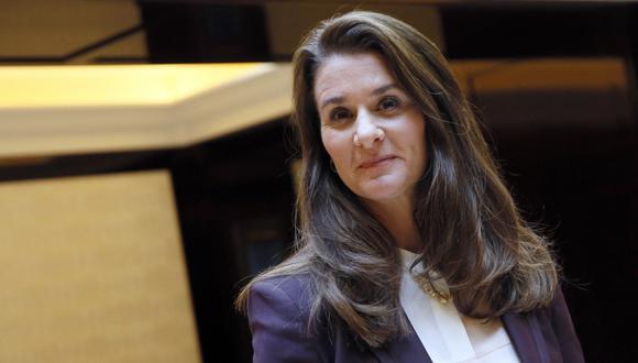 El divorcio de Melinda Gates no significa el fin de su relación en el mundo de la filantropía. (Foto: AFP)