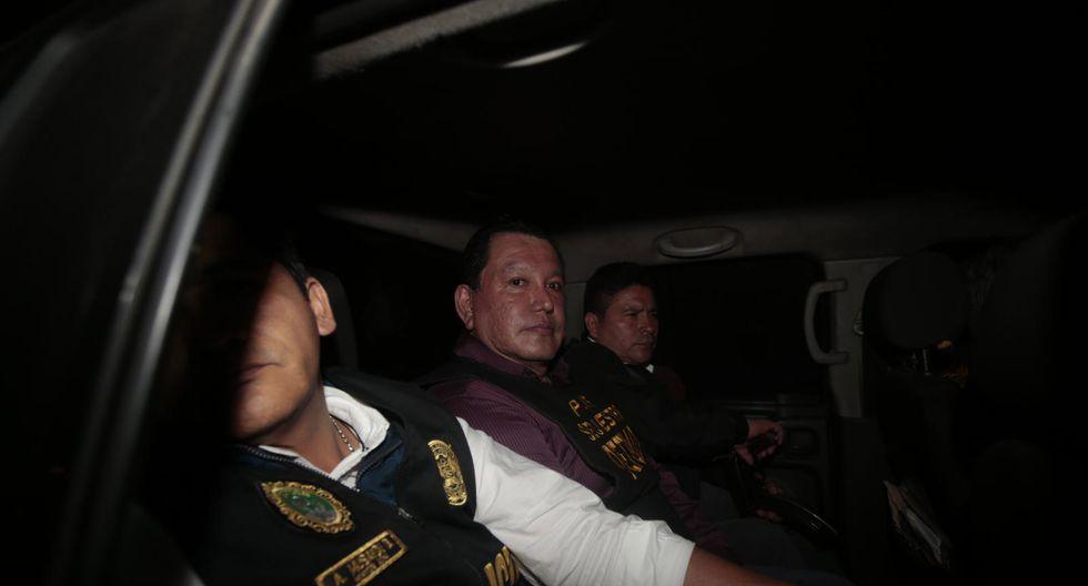 Félix Moreno fue detenido en la noche del último lunes después de diez meses de haber permanecido prófugo. (Kelvin García/GEC)