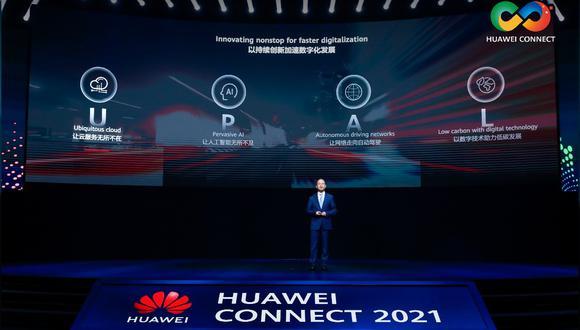 Huawei en evento afirma que la compañía continuará innovando sin parar para una digitalización más rápida.