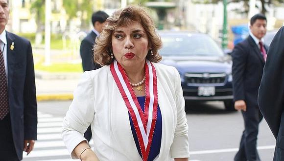 Fiscal de la Nación Zoraida Ávalos indicó que no participará en sesión de la Comisión de Justicia (GEC).