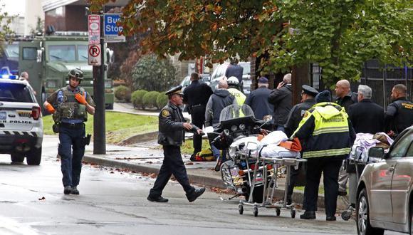 Robert Gregory Bowers está acusado de 11 homicidios, seis asaltos agravados e intimidación étnica. (Foto: AP)