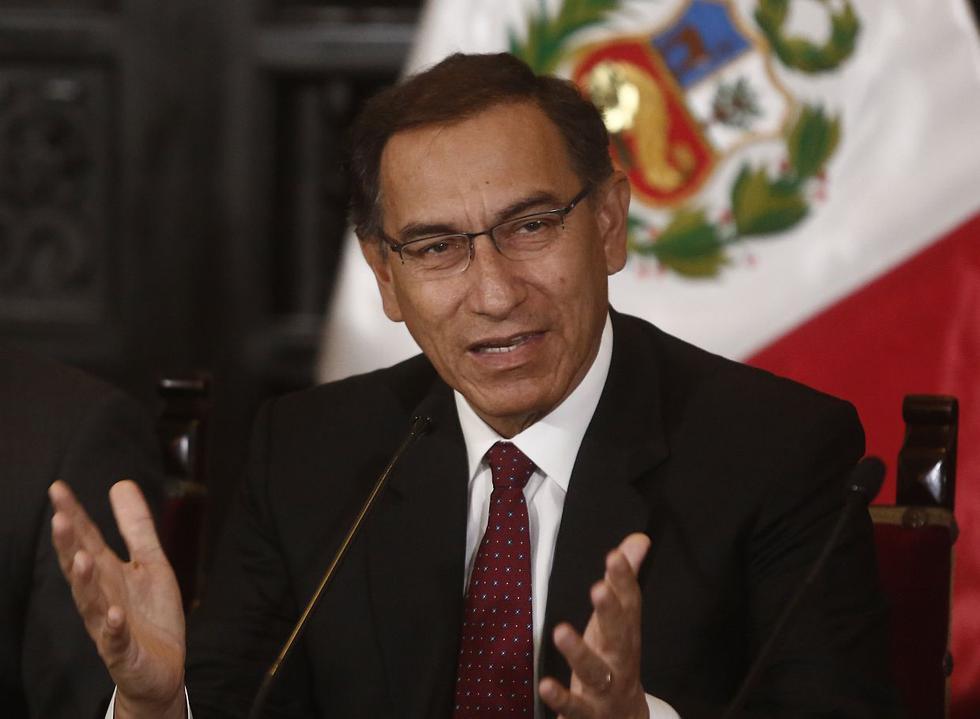 El presidente de la República, Martín Vizcarra. (Foto: USI)