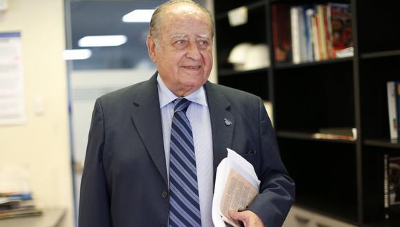 Ántero Flores-Aároz expresó que no es responsable político (GEC).