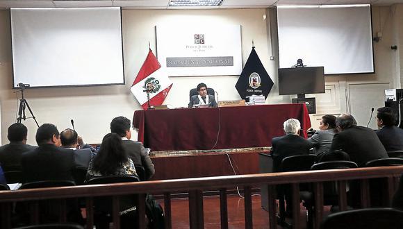 Juez Richard Concepción se tomó varias horas para evaluar su resolución. (USI)