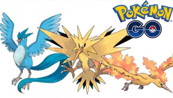 Pokemon GO: Pokémones legendarios llegan al popular juego de realidad aumentada (Composición)