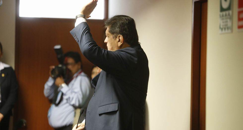 Sobre la crisis presidencial la calificó de escandalosa y trágica. (Mario Zapata/Perú21)