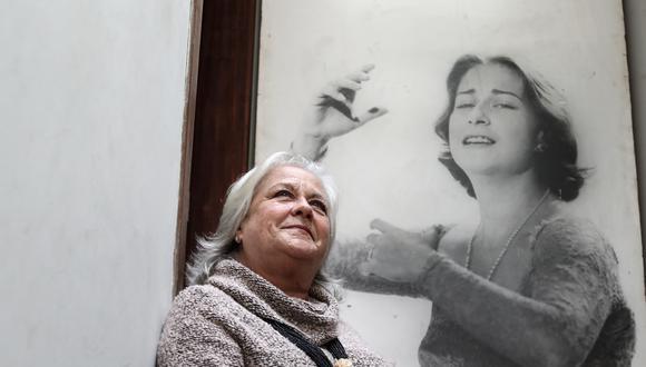 Teresa Fuller trabaja en conjunto con la Beneficencia para hacer realidad la Casa Chabuca. (FOTOS: ALESSANDRO CURRARINO)