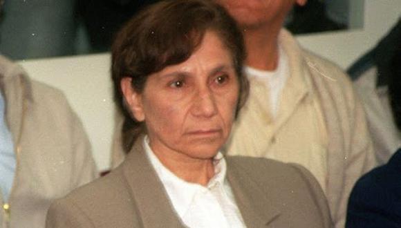 Terrorista Elena Iparraguirre recibió la vacuna contra el coronavirus (Foto: GEC)