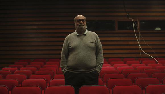 Alberto Isola dirige y actúa en 'Trilogía' en el CCPUCP. (Foto: Piko Tamashiro)