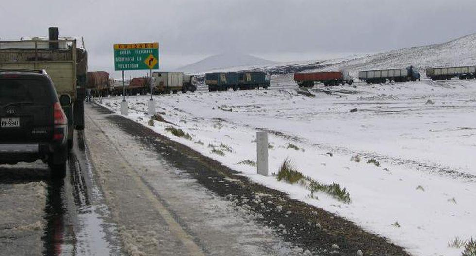 Cuatro días de heladas le esperan a localidades andinas. (USI)
