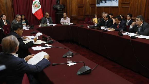 EN AGENDA. Comisión de Ética decidirá en una semana situación de  Carmen Omonte. (Mario Zapata)