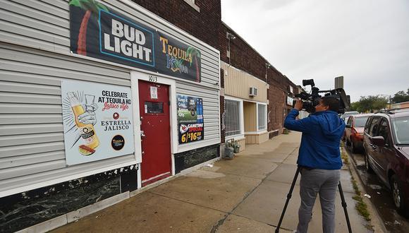 El bar Tequila KC donde 9 personas fueron baleadas y cuatro asesinadas el pasado 6 de octubre de 2019 en Kansas City. (Foto: AFP)