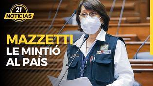 Pilar Mazzetti le mintió al país