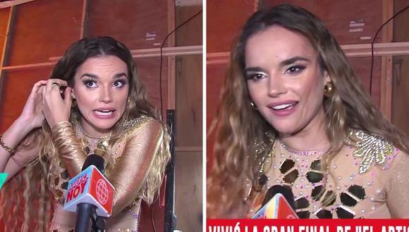 """Melody se mostró muy emocionada al hablar de """"Las Reinas del Show"""", el nuevo programa de Gisela Valcárcel. (Foto: Captura América TV)."""
