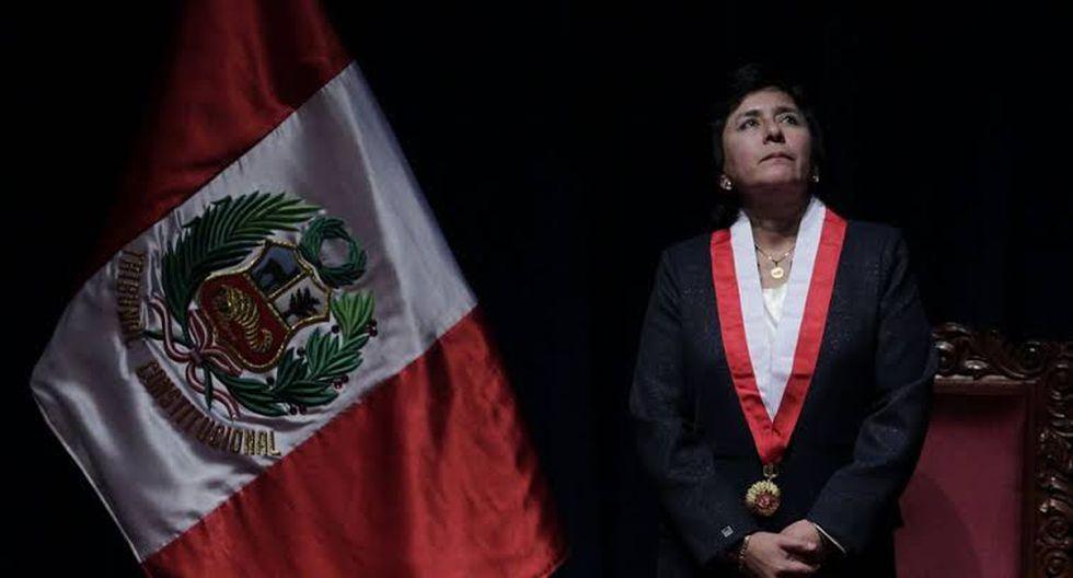 Marianella Ledesma es la nueva presidenta del Tribunal Constitucional.