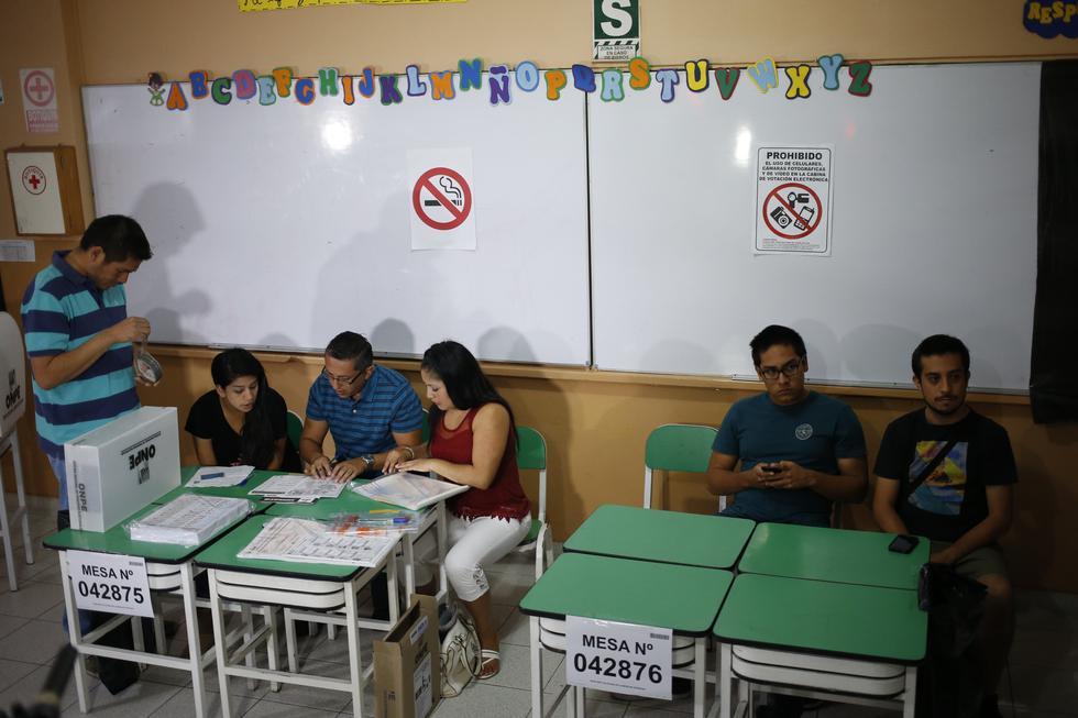 Se presentaron más de 14 mil listas de candidatos para las Elecciones Regionales y Municipales 2018. (Perú21)