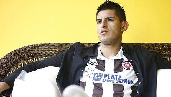 El 'León' espero dejar atrás lo de su lesión y destacar en la selección. (A. Valle)