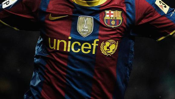 Barcelona hará importante donativo a la Unicef. (Difusión)