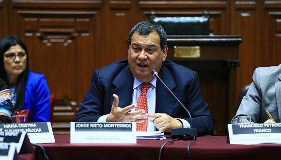 Jorge Nieto consideró que tener experiencia no significa que Keiko Fujimori haya aprendido de sus errores. (Foto: Congreso)