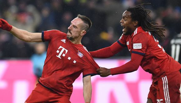 Bayern Munich vs. Eintracht Frankfurt se enfrentan por la Bundesliga. (Foto: AFP)