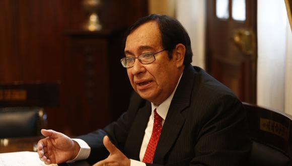 Víctor Prado evalúa retirarse de la Comisión de Alto Nivel Anticorrupción.(FOTO: USI)