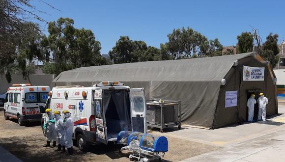 El nosocomio fue implementado con un laboratorio, un desfibrilador, trauma shock, servicios higiénicos, aire acondicionado y la bioseguridad necesaria.