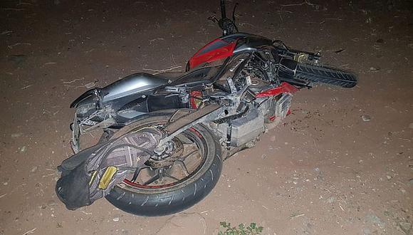 Sullana: Un muerto y un herido deja despiste de motocicleta. (GEC)