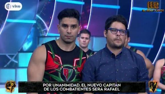 Rafael Cardozo fue elegido capitán de los 'Combatientes' en polémica votación. (Foto: Captura de video)