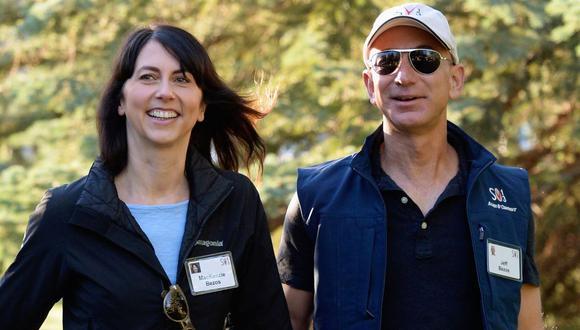 MacKenzie Bezos prometió destinar la mitad de su fortuna de US$ 36.000 millones a la caridad. (Foto: AFP)
