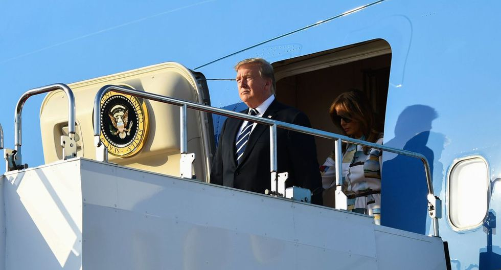 Trump llega a Japón para conocer al emperador y revisar agenda global. (Foto: AFP)
