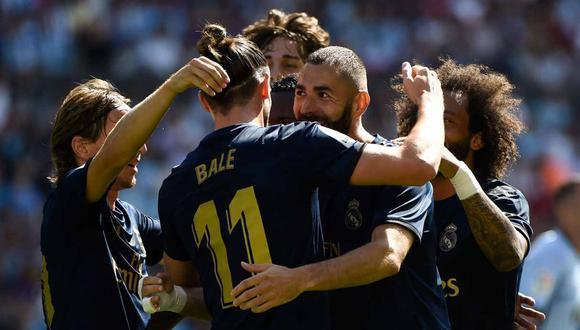 Real Madrid vs. Real Valladolid se miden por la Liga Santander. (Foto: AFP)