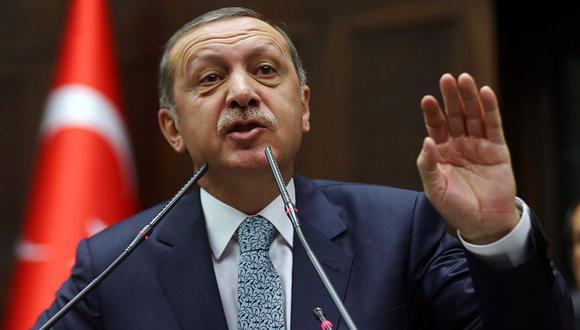 """Erdogan se negó a admitir la derrota en Estambul, controlada por el movimiento islamista desde hace 25 años, y denunció """"irregularidades masivas"""". (Foto: AFP)"""