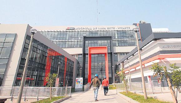 Hospital de Ate tiene previsto atender a pacientes con coronavirus en estado grave.