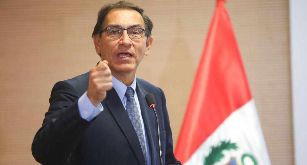 """Martín Vizcarra pidió a la ciudadanía que haga """"su máximo esfuerzo"""" para informarse antes de elegir a nuevos congresisetas. (Foto: GEC)"""