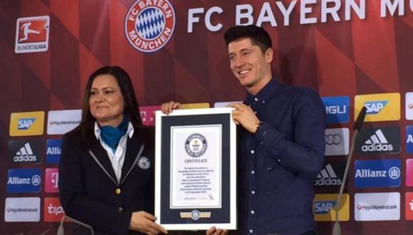 Robert Lewandowski es el goleador del Bayern Munich. (Twitter/@HomeBayern)