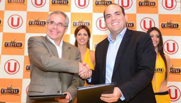 Universitario tendrá como sponsor a cerveza Cristal. (Difusión)