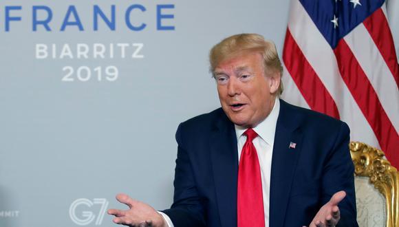 """""""Y una de las razones por las que es un gran líder, el presidente Xi, y una de las razones por las que China es un gran país es que entienden cómo funciona la vida"""", dijo Trump. (Foto: Reuters)"""