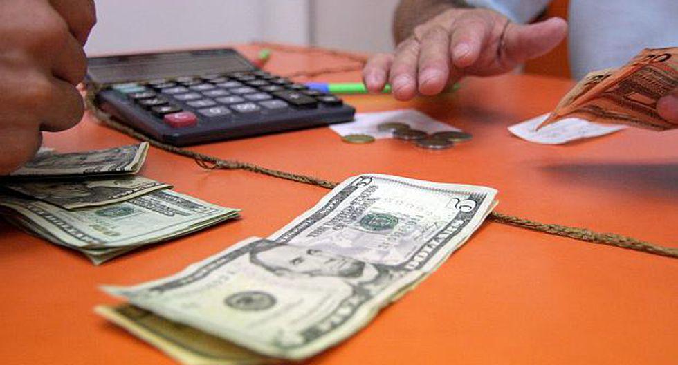 El dólar se ha fortalecido 4.29% en lo que va del año. (Foto: El Comercio)