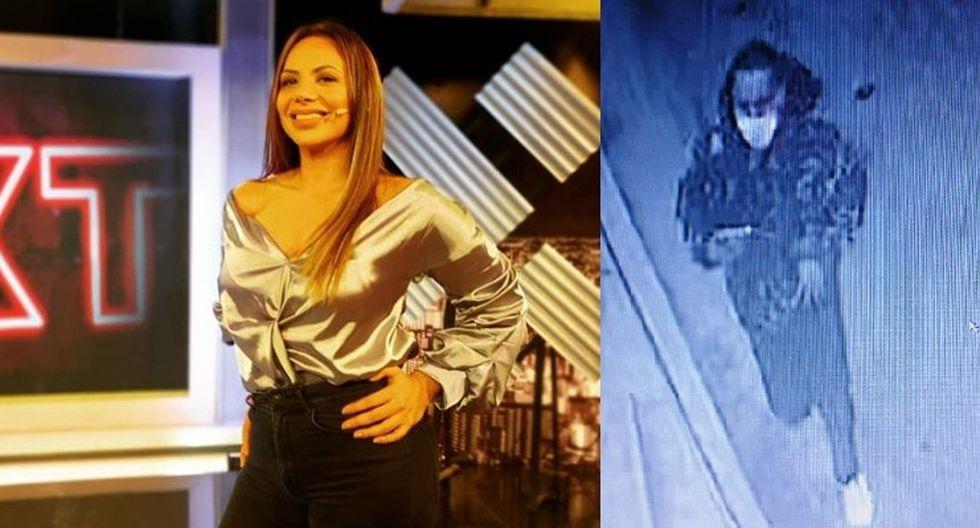 La conductora de TV, Mónica Cabrejos y su equipo de producción de 'Al sexto día' fueron víctimas de robo.