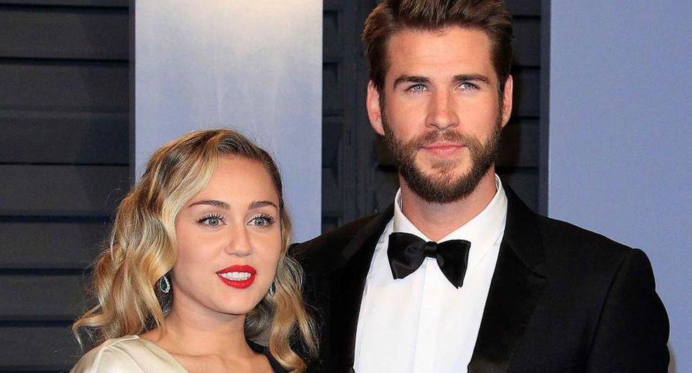 Liam Hemsworth le jugó divertida broma a Miley Cyrus que la hizo gritar. (Foto: EFE)