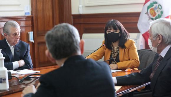 Mirtha Vásquez nombró a asesores de su despacho como primera ministra. (Foto: Presidencia)