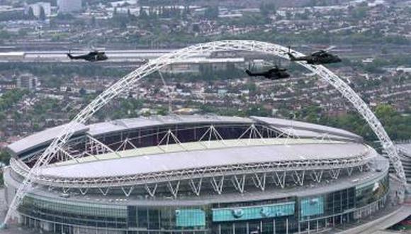 El partido final de la Eurocopa 2021 será en el estadio Wembley. (Foto: Agencias)