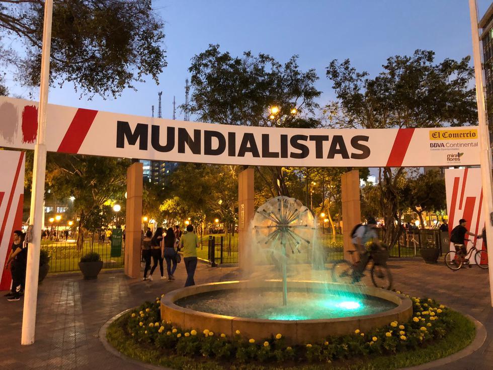 Exhibición se encuentra en el parque Kennedy de Miraflores (Carlos Viguria).