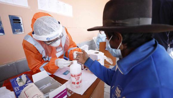 Para esta jornada, el MINSA se ha transportado dos toneladas de medicamentos, equipos de protección y pruebas rápidas, además de una brigada de salud. (Ministerio de Cultura)
