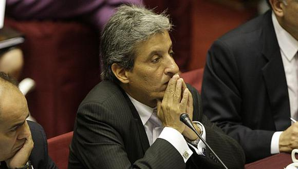 Deploró la actitud de Wilfredo Saavedra. (USI)