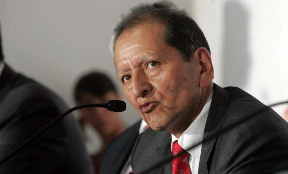 Jorge Merino dijo que estudio ambiental de Tía María se aprobaría en segundo semestre. (Heiner Aparicio)