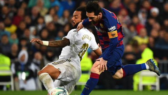 Real Madrid y Barcelona volverán a enfrentarse en abril del 2021. (Foto: AFP)