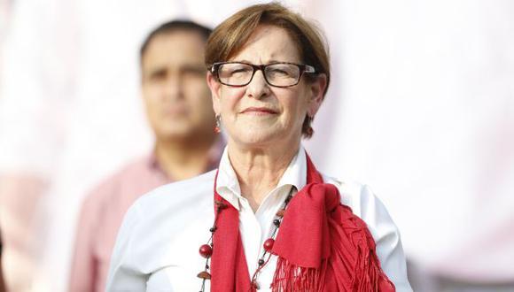 Susana Villarán fue alcaldesa de Lima. (Perú21)