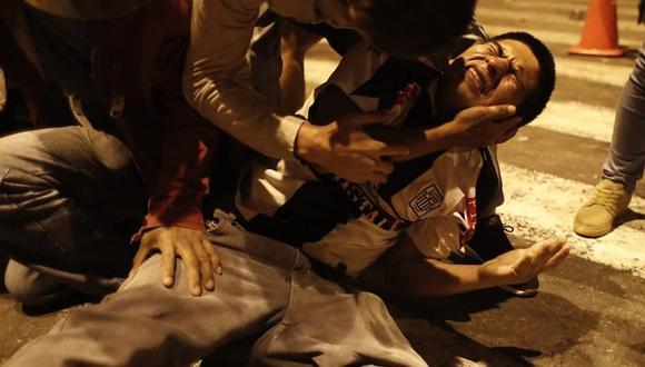 Protestas en el Centro de Lima dejaron decenas de jóvenes heridos. (GEC)