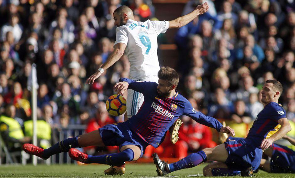 Karim Benzema tuvo la opción para reivindicar su mal momento. (AFP)